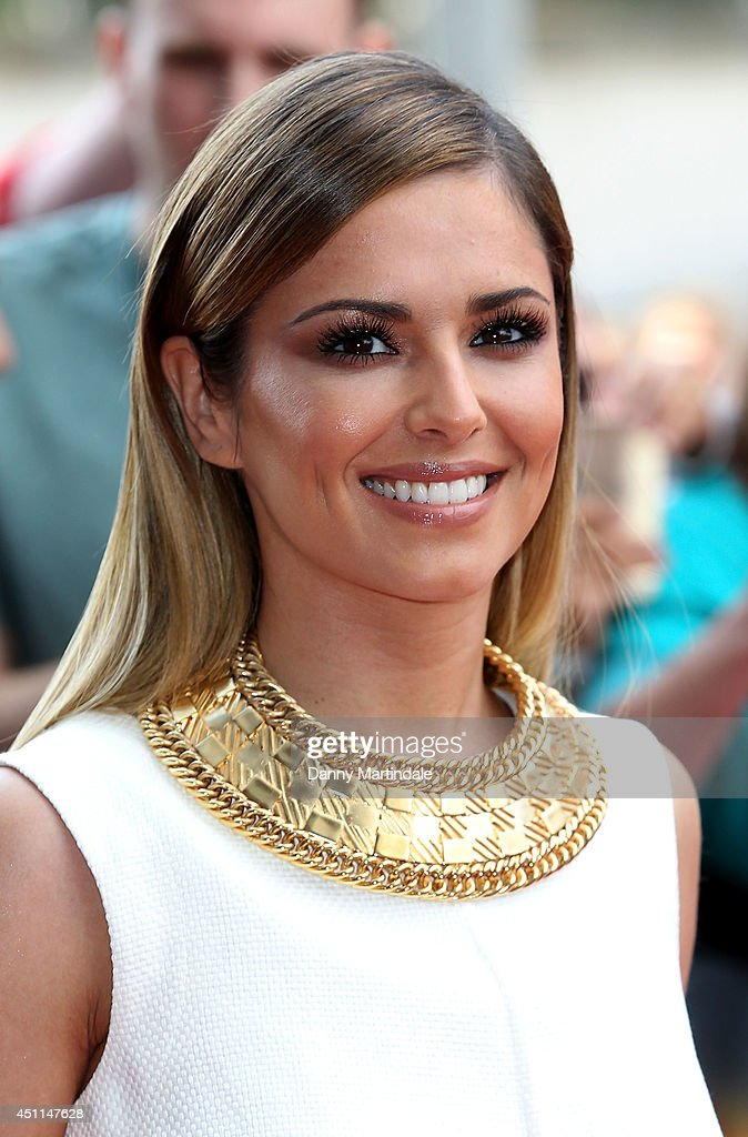 Cheryl Cole arrives for the London Auditions of X Factor at Emirates Stadium on June 24, 2014 in London, England.