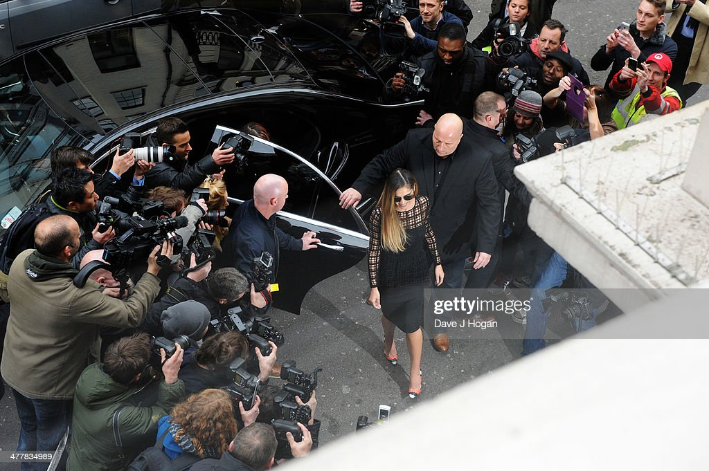 Cheryl Cole arrives to announce herself as a judge for The X-Factor 2014 at Dover Street Arts Club on March 11, 2014 in London, England.
