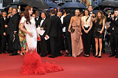 Cheryl Cole at the premiere for 'Amour' during the 65th Cannes International Film Festival