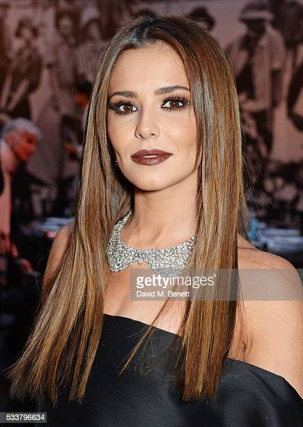 Cheryl Cole attends British Vogue's Centenary gala dinner at Kensington Gardens on May 23 2016 in London England