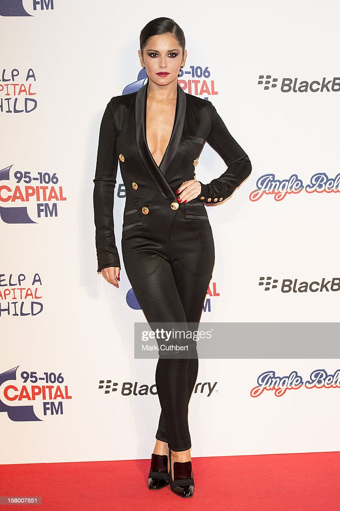 Cheryl Cole attends the Capital FM Jingle Bell Ball at 02 Arena on December 8, 2012 in London, England.