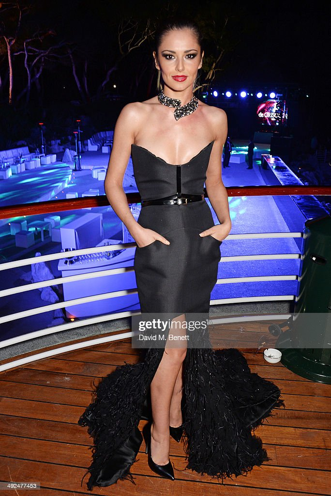 Cheryl Cole attends the de Grisogono 'Fatale In Cannes' party during the 67th Cannes Film Festival at Hotel du Cap-Eden-Roc on May 20, 2014 in Cap d'Antibes, France.