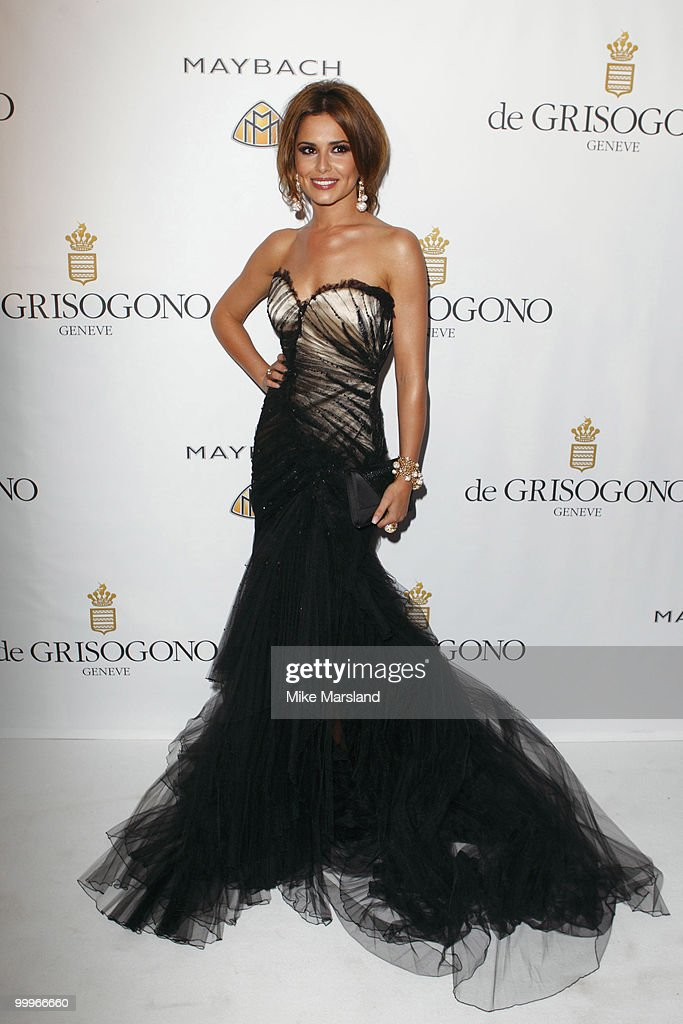 Cheryl Cole attends the De Grisogono's Private Dinner Party at the Eden Roc, Hotel Du Cap during the 63rd International Cannes Film Festival on May 18, 2010 in Cap d'Antibes, France.