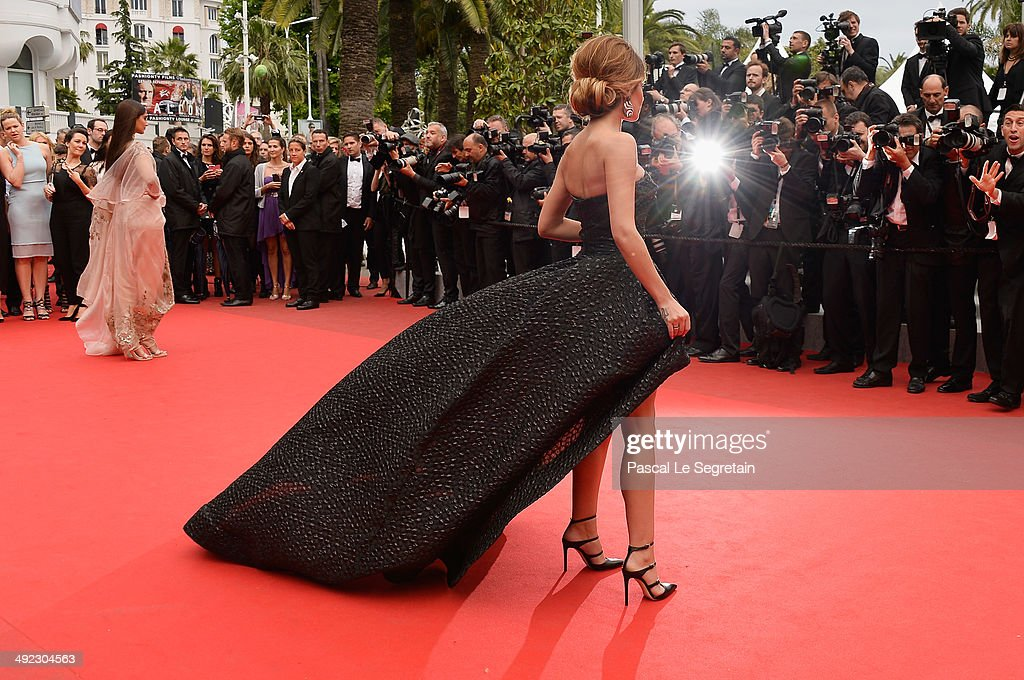 Cheryl Cole attends the 'Foxcatcher' premiere during the 67th Annual Cannes Film Festival on May 19, 2014 in Cannes, France.