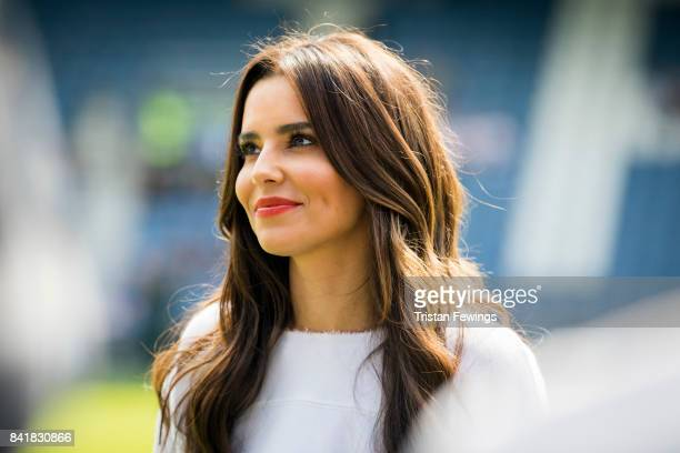 Cheryl Cole attends the #GAME4GRENFELL at Loftus Road on September 2 2017 in London England The charity football match has been set up to benefit...