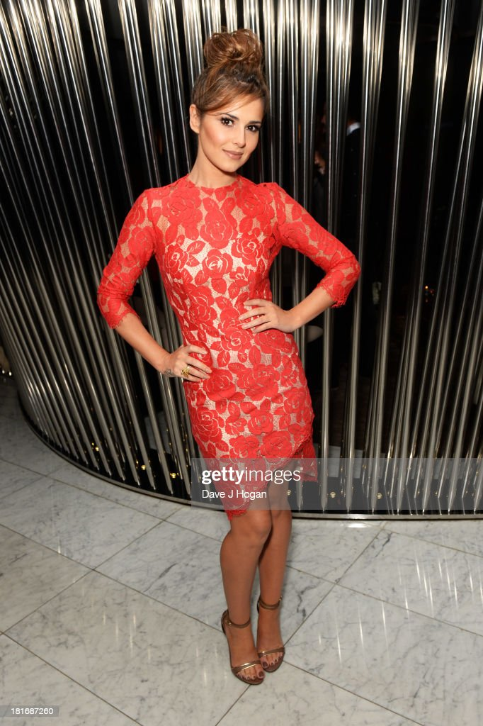 Cheryl Cole attends the launch party for Kimerley Walsh 'A Whole Lot Of History' at Hotel ME on September 23, 2013 in London, England.