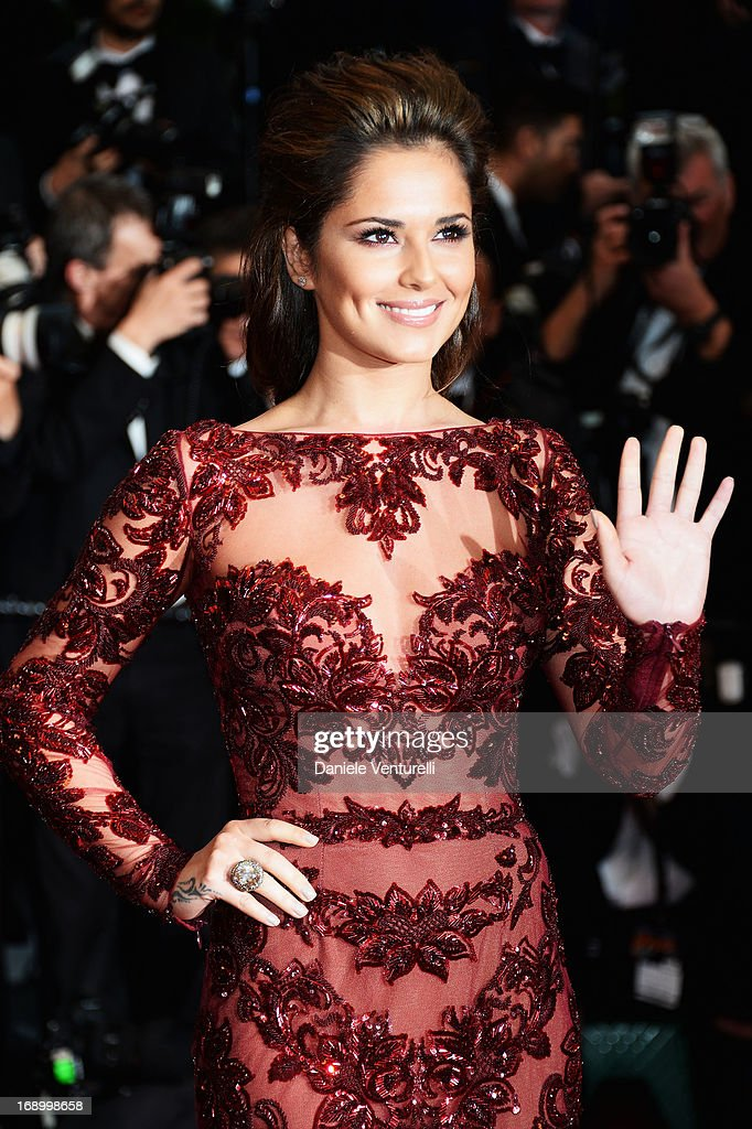 Cheryl Cole attends the Premiere of 'Jimmy P. (Psychotherapy Of A Plains Indian)' at Palais des Festivals during The 66th Annual Cannes Film Festival on May 18, 2013 in Cannes, France.