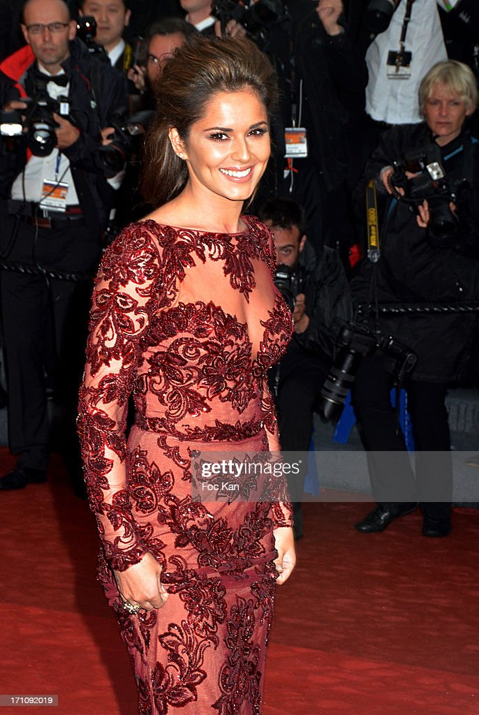 Cheryl Cole attends the Premiere of 'Jimmy P. (Psychotherapy Of A Plains Indian)' at Palais des Festivals during The 6s6th Annual Cannes Film Festival on May 18, 2013 in Cannes, France.