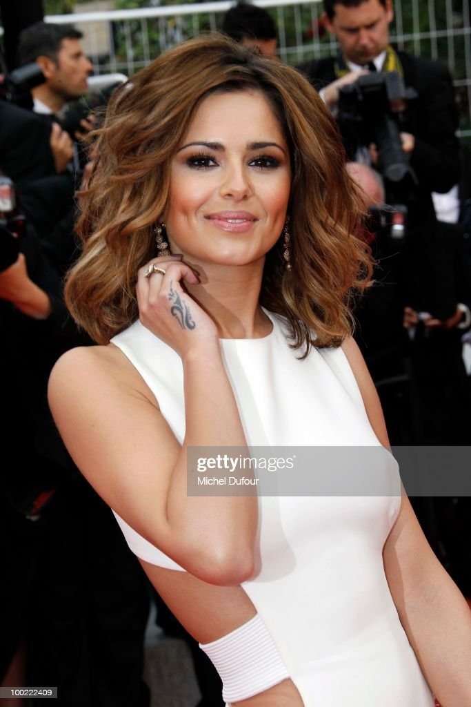 Cheryl Cole attends the premiere of 'Outside Of The Law' at the Palais des Festivals during the 63rd Annual Cannes Film Festival on May 21, 2010 in Cannes, France.