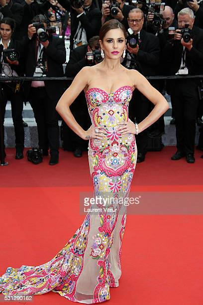 Cheryl Cole attends the 'Slack Bay ' premiere during the 69th annual Cannes Film Festival at the Palais des Festivals on May 13 2016 in Cannes