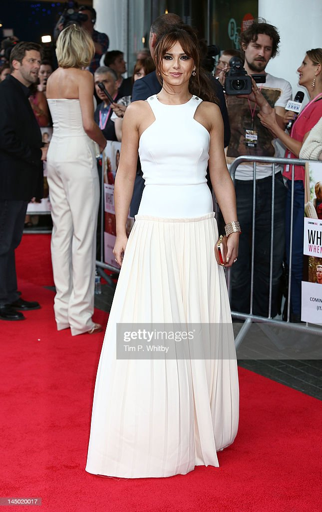 Cheryl Cole attends the UK film premiere of 'What To Expect When You're Expecting' at BFI IMAX on May 22, 2012 in London, England.