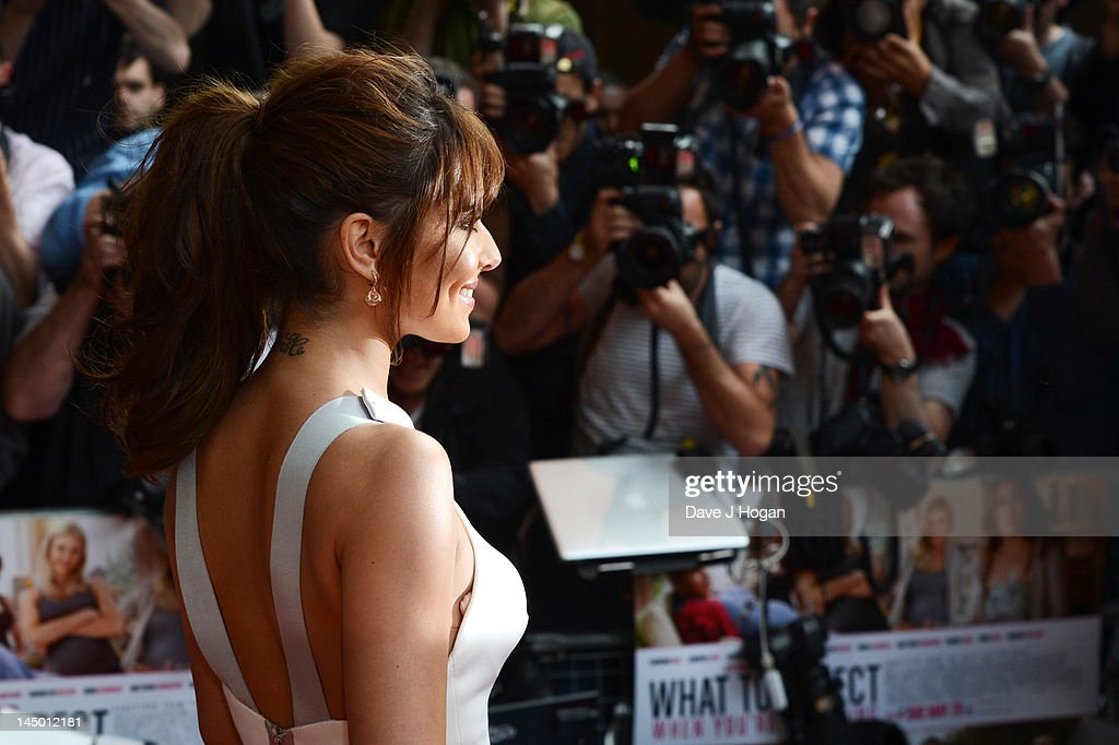 Cheryl Cole attends the UK premiere of 'What To Expect When You're Expecting' at The BFI IMAX on May 22, 2012 in London, England.