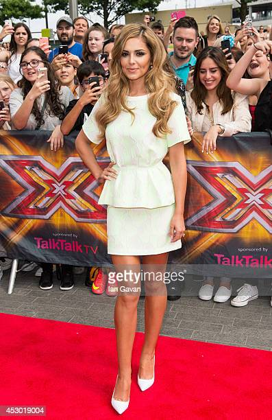Cheryl Cole attends the X Factor Wembley Arena auditions at Wembley on August 1 2014 in London England