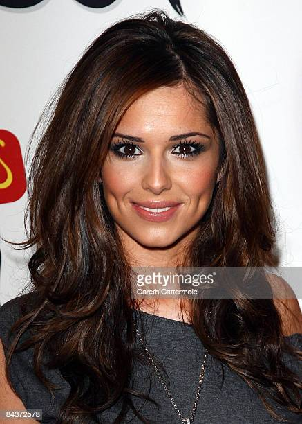 Cheryl Cole from Girls Aloud arrives at the Brit Awards 2009 Nominations Launch Party at the Roundhouse on January 20 2009 in London England