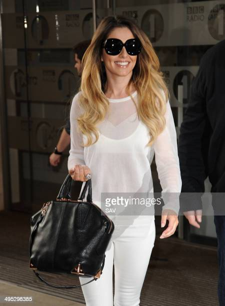 Cheryl Cole pictured at Radio 1 on June 2 2014 in London England