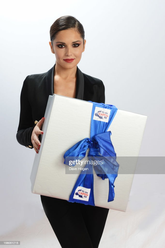 Cheryl Cole poses for a portrait at The Capital FM Jingle Bell Ball at The O2 Arena on December 9, 2012 in London, England.