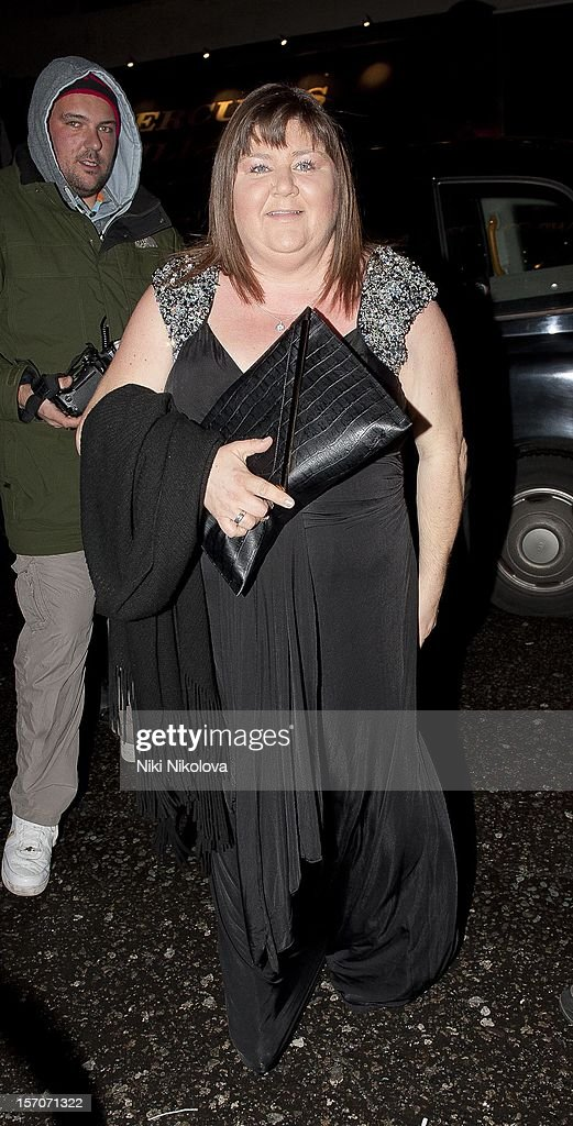 Cheryl Fergison attends the OK! Magazine Christmas Party on November 27, 2012 in London, England.