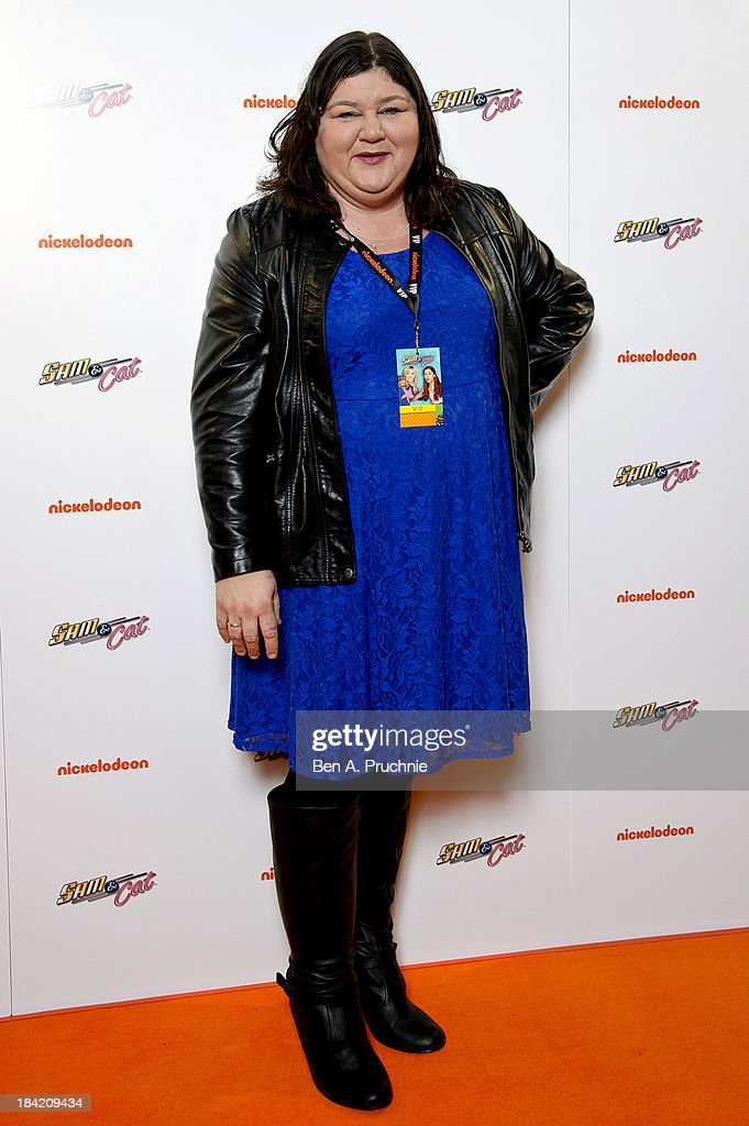 Cheryl Fergison attends the UK Premiere of Sam & Cat at Cineworld 02 Arena on October 12, 2013 in London, England.
