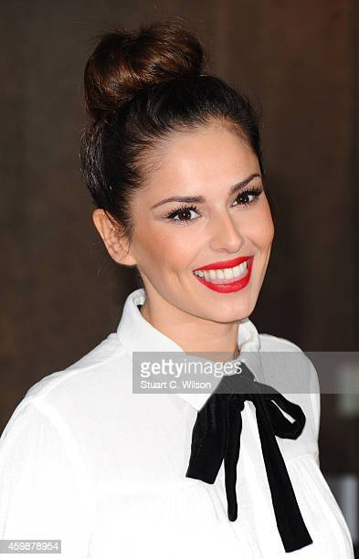 Cheryl Fernandez Versini attends The Annual ICAP Charity Day at ICAP on December 3 2014 in London England