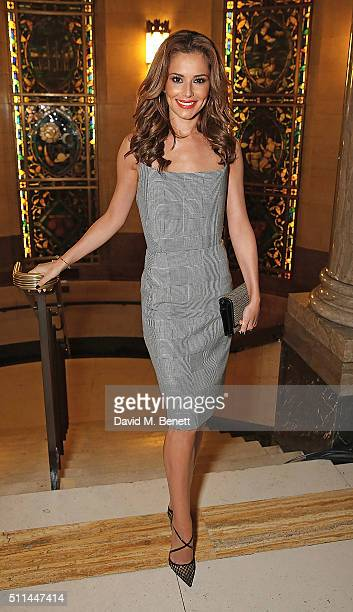 Cheryl FernandezVersini attends a Celebration of L'Oreal Paris Studio Pro at London Fashion Week L'Oreal Paris Gareth Pugh cohost after show party at...