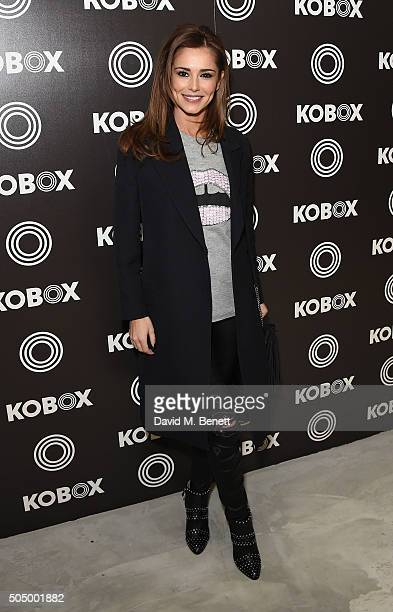 Cheryl FernandezVersini attends KOBOX the UK's first boutique boxing gym launched officially tonight with Cheryl and Nicki Shields founded by Shane...