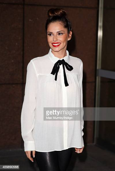 Cheryl FernandezVersini attends the annual ICAP Charity Day at ICAP on December 3 2014 in London England