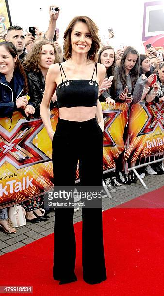 Cheryl FernandezVersini attends the first auditions for The X Factor 2015 on July 8 2015 at Event City in Manchester England