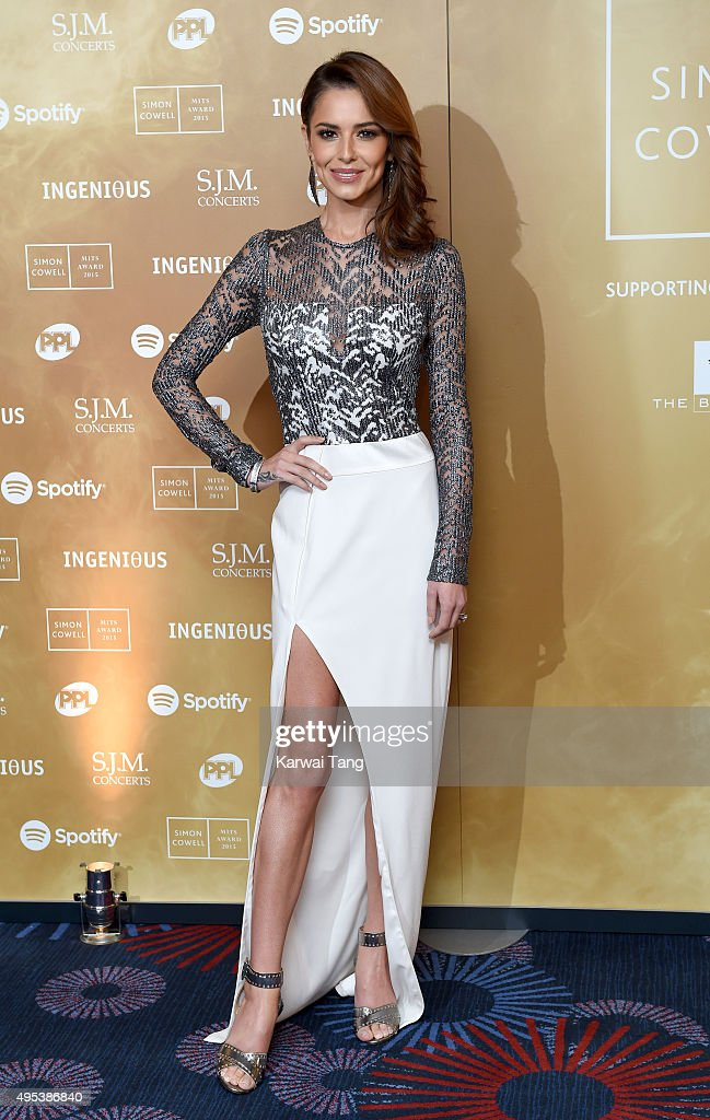 Cheryl Fernandez-Versini attends the Music Industry Trusts Awards in aid of the Nordoff Robbins charity and BRIT Trust at The Grosvenor House Hotel on November 2, 2015 in London, England.