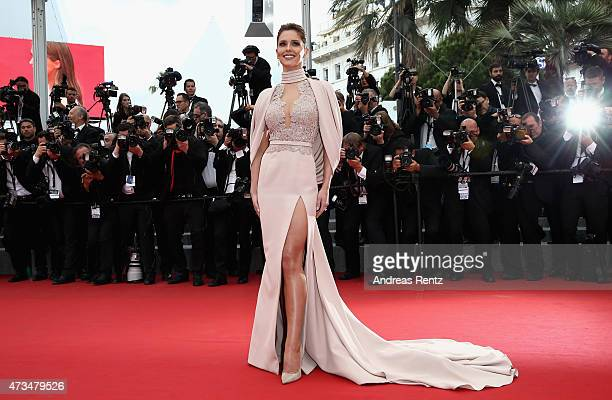 Cheryl FernandezVersini attends the Premiere of 'Irrational Man' during the 68th annual Cannes Film Festival on May 15 2015 in Cannes France