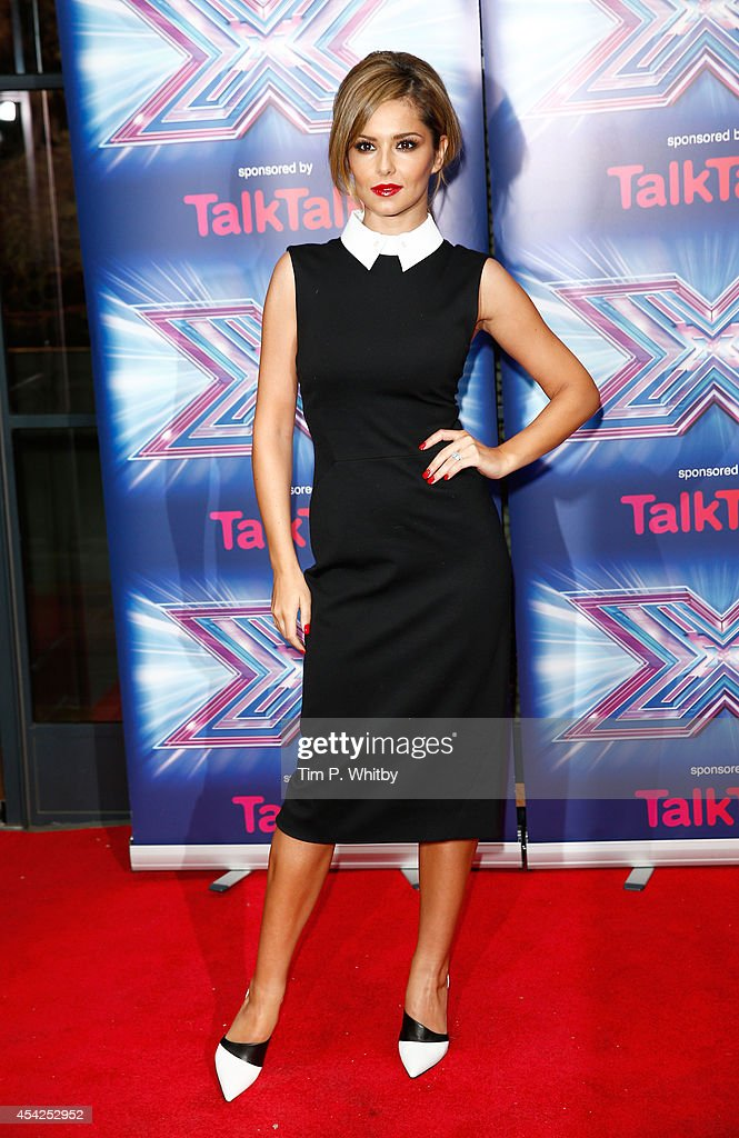 <a gi-track='captionPersonalityLinkClicked' href=/galleries/search?phrase=Cheryl+Fernandez-Versini&family=editorial&specificpeople=202198 ng-click='$event.stopPropagation()'>Cheryl Fernandez-Versini</a> attends the press launch for the new series of 'The X Factor' at Ham Yard Hotel on August 27, 2014 in London, England.