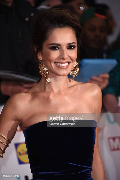 Cheryl FernandezVersini attends the Pride of Britain awards at The Grosvenor House Hotel on September 28 2015 in London England