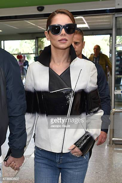 Cheryl FernandezVersini is seen at Nice Airport during the 68th annual Cannes Film Festival on May 16 2015 in Cannes France