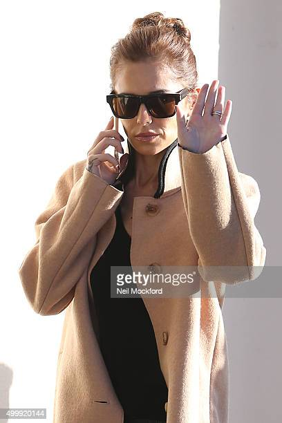Cheryl FernandezVersini seen arriving at Fountain Studios for X Factor rehearsals on December 4 2015 in London England