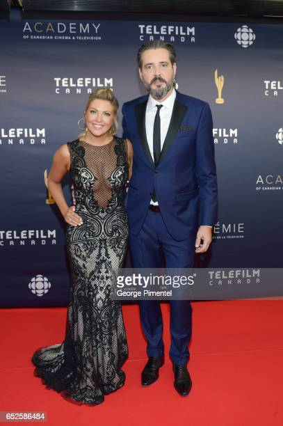 Cheryl Hickey and Roz Weston attend the 2017 Canadian Screen Awards at Sony Centre For Performing Arts on March 12 2017 in Toronto Canada