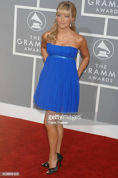 Cheryl Hickey arrives at the 49th annual Grammy�� Awards in Los Angeles