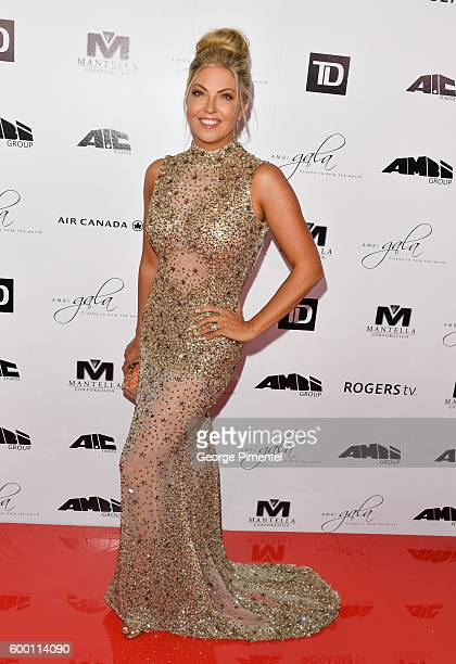 Cheryl Hickey attends the 2016 Toronto International Film Festival 'AMBI Gala' at Ritz Carlton on September 7 2016 in Toronto Canada