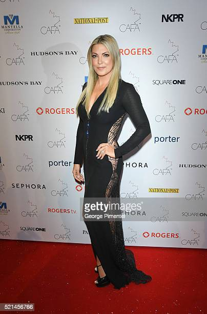 Cheryl Hickey attends the 3rd Annual Canadian Arts And Fashion Awards held at the Fairmont Royal York Hotel on April 2016 in Toronto Canada