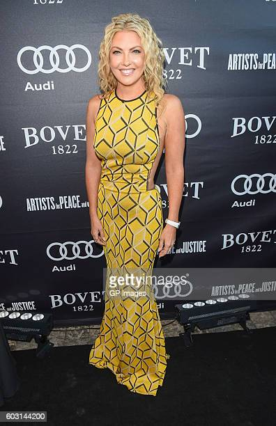 Cheryl Hickey attends The Artists For Peace and Justice Gala at Casa Loma on September 11 2016 in Toronto Canada