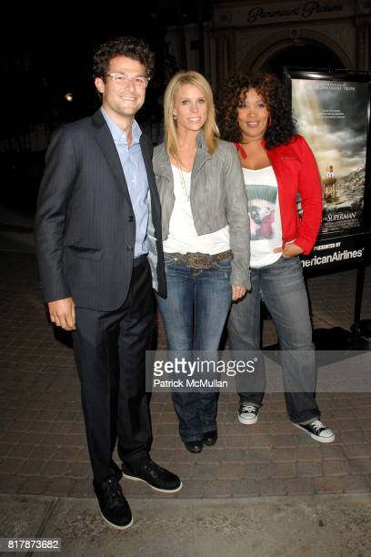 Cheryl Hines and Kim Whitley attend Waiting For 'Superman' Premiere at Paramount Theatre on September 20 2010 in Hollywood California