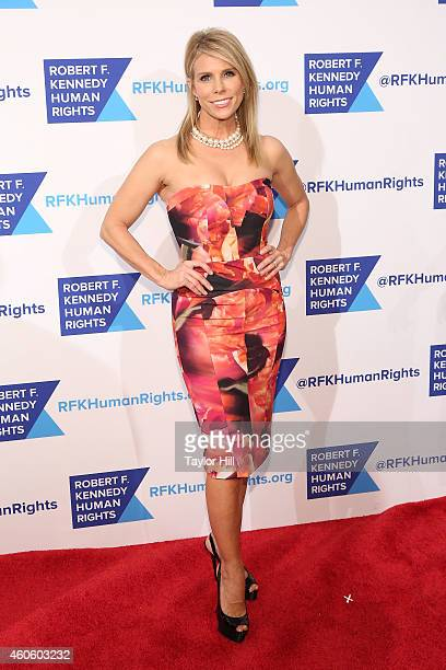 Cheryl Hines attends the 2014 Robert F Kennedy Ripple Of Hope Gala at New York Hilton on December 16 2014 in New York City