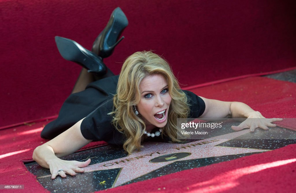 Cheryl Hines attends the ceremony honoring her with a star on The Hollywood Walk of Fame on January 29, 2014 in Hollywood, California.