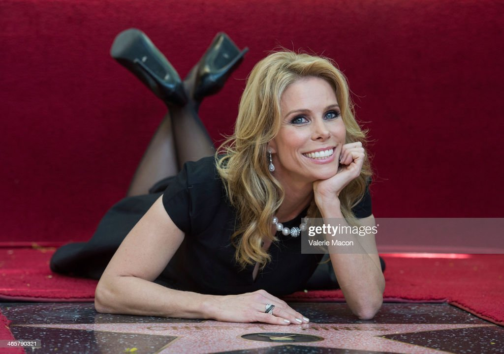 <a gi-track='captionPersonalityLinkClicked' href=/galleries/search?phrase=Cheryl+Hines&family=editorial&specificpeople=209249 ng-click='$event.stopPropagation()'>Cheryl Hines</a> attends the ceremony honoring her with a star on The Hollywood Walk of Fame on January 29, 2014 in Hollywood, California.