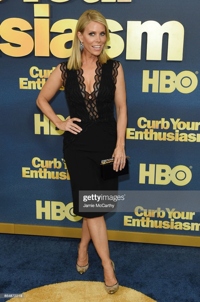 Cheryl Hines attends the 'Curb Your Enthusiasm' season 9 premiere at SVA Theater on September 27, 2017 in New York City.