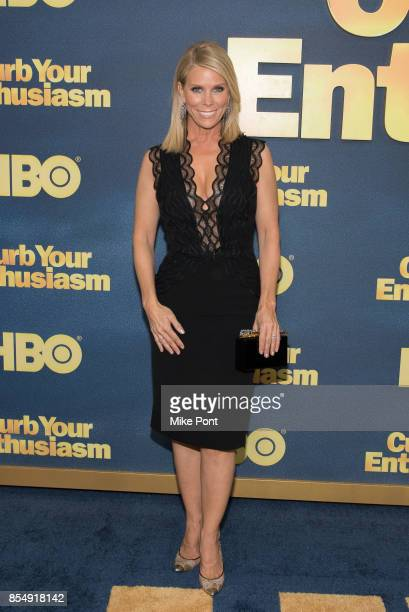 Cheryl Hines attends the 'Curb Your Enthusiasm' season 9 premiere at SVA Theater on September 27 2017 in New York City