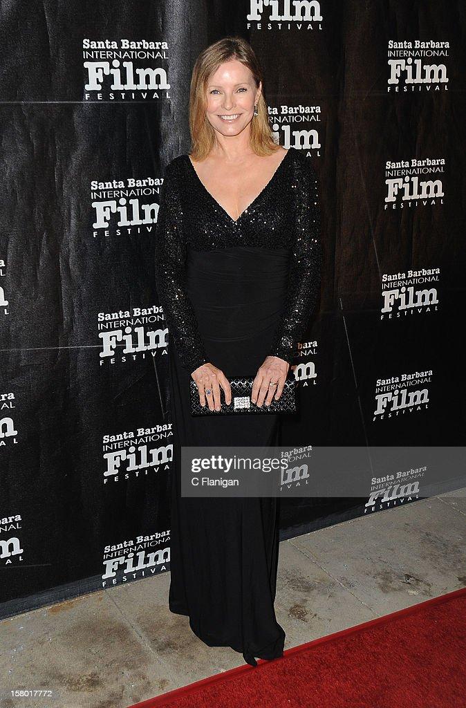 Cheryl Ladd arrives at the 7th Annual Santa Barbara International Film Festival - Kirk Douglas Award For Excellence In Film Honoring Robert DeNiro at Bacara Resport And Spa on December 8, 2012 in Santa Barbara, California.