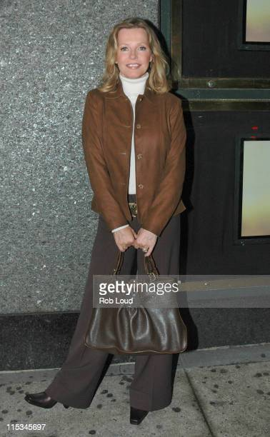 Cheryl Ladd during Cheryl Ladd Handbag Appearance in New York City New York United States