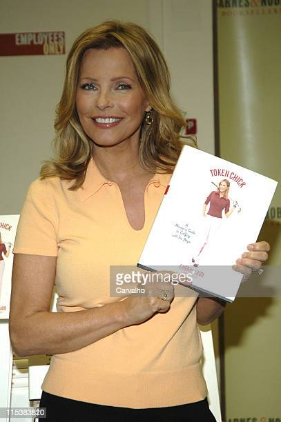 Cheryl Ladd during Cheryl Ladd Signs Her Book 'Token Chick A Woman's Guide to Golfing with the Boys' at Barnes Noble in New York City May 24 2005 at...