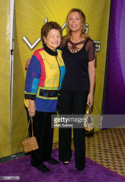 Cheryl Ladd right with mother Dolores during NBC Cocktail Party for 'Las Vegas' at TCA Arrivals at Beverly Hilton Hotel in Beverly Hills California...