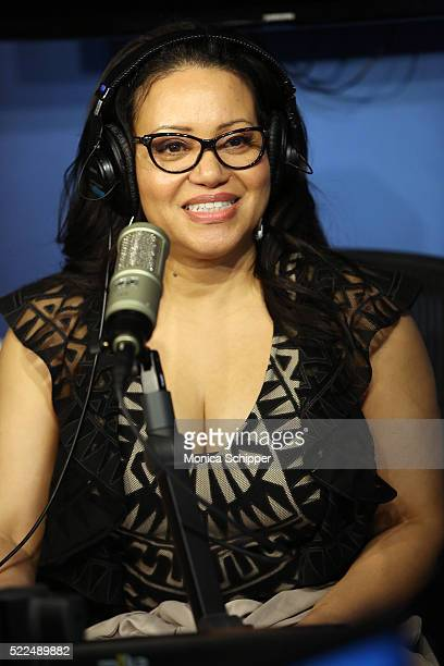 Cheryl 'Salt' James of SaltNPepa visits 'My Favorite Song with John Benjamin Hickey' on Radio Andy at SiriusXM Studios to discuss the I Love the Ô90s...