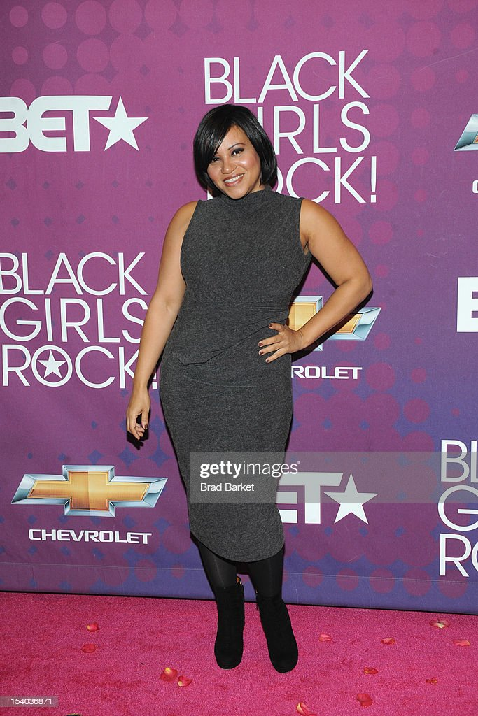 Cheryl 'Salt' James of the band Salt-N-Pepa attends the red carpet during the CHEVY Shot Caller's Dinner on October 12, 2012 in New York City.